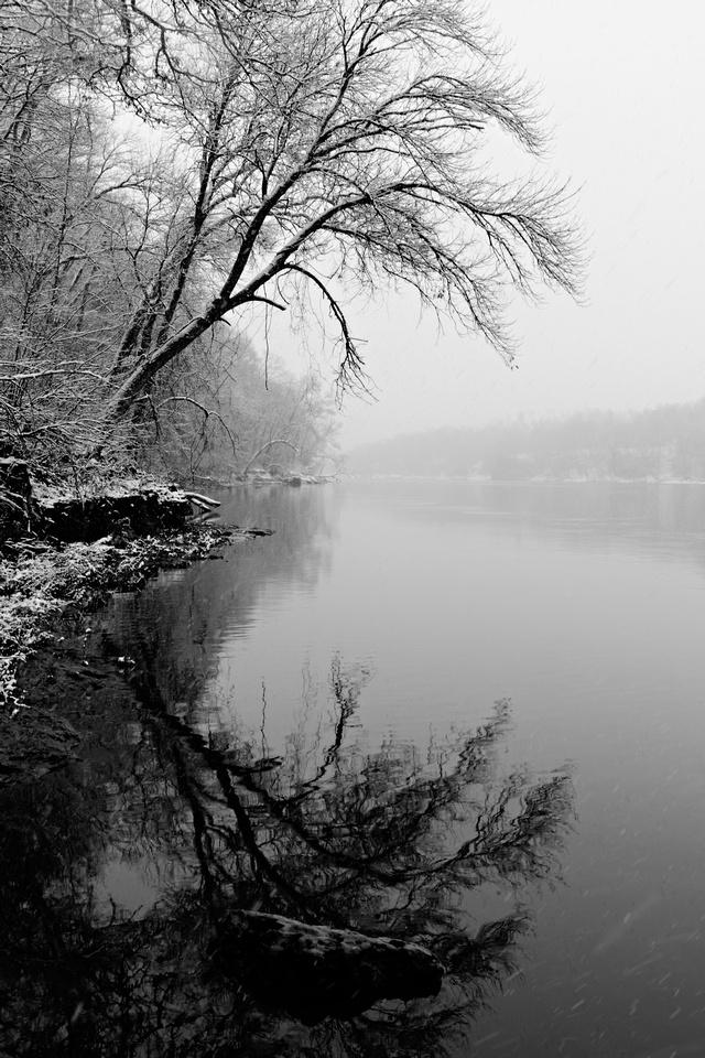 Cedar River in March