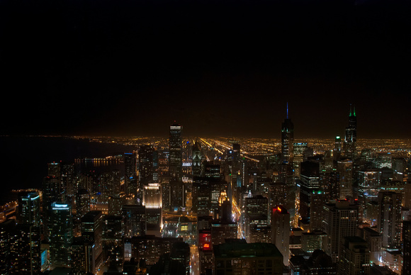 Chicago Night Sky