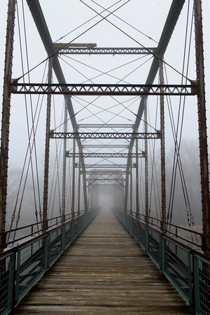 Foggy Sutliff Bridge