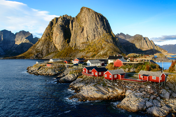 Famous Cabins of Hamnøy